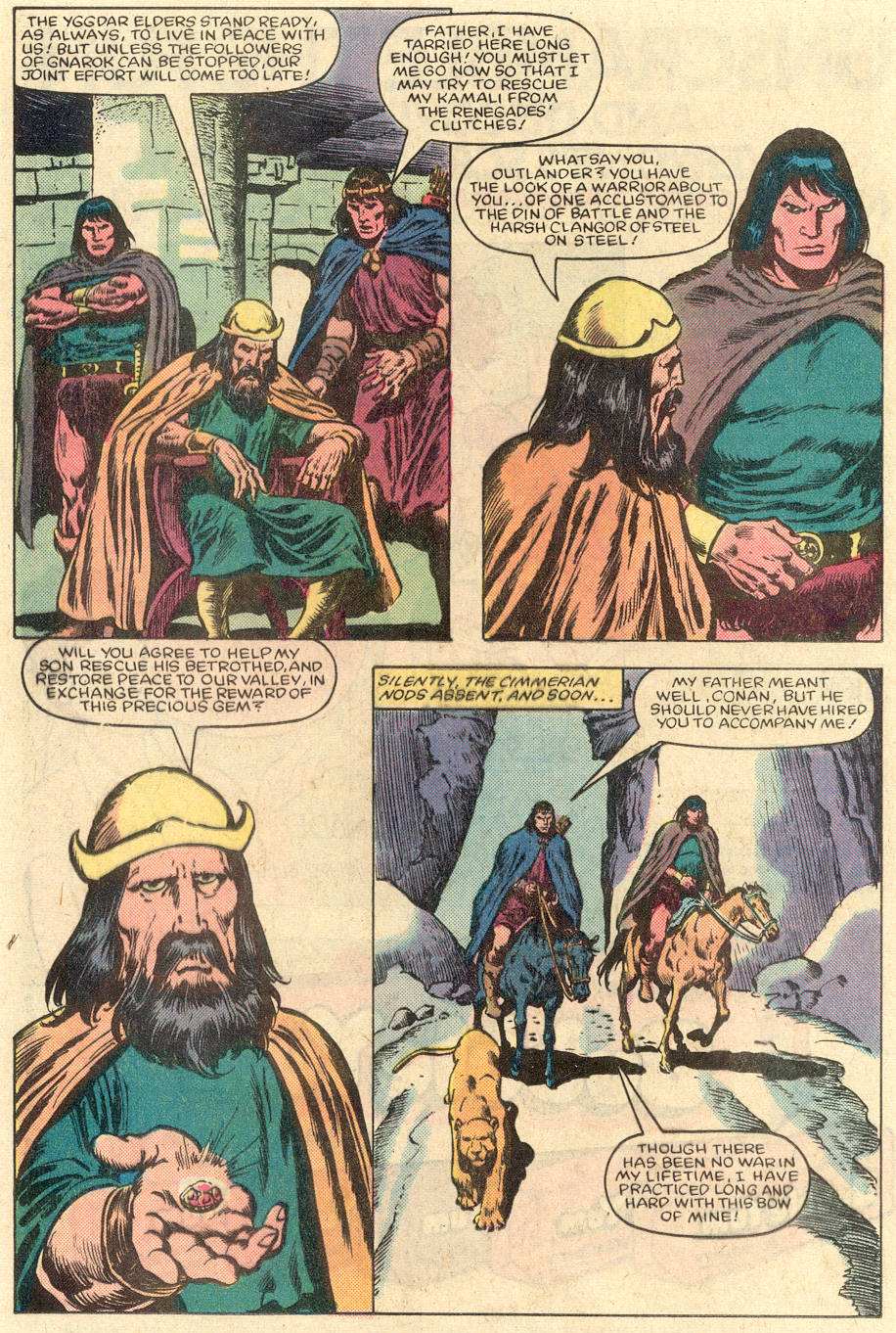 Conan the Barbarian (1970) Issue #151 #163 - English 13