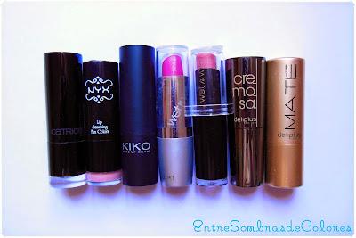 Mejores barras de labios / labiales low cost
