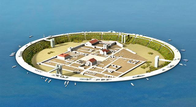 4 مدينة كاملة وسط الماء   تحفة معمارية أثرية تم اكتشفها حديثاً