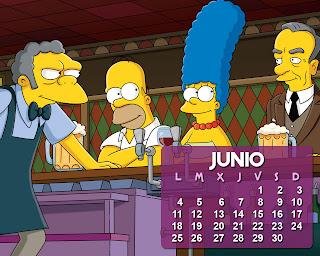 calendario_los_simpson_junio
