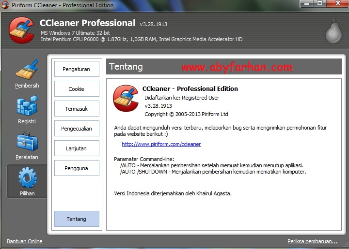 Download CCleaner Professional 3.28.1913 Full Version