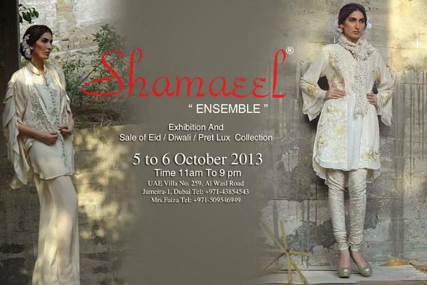 Shameel Anasari Eid Ul Azha Collection 2013 For Women