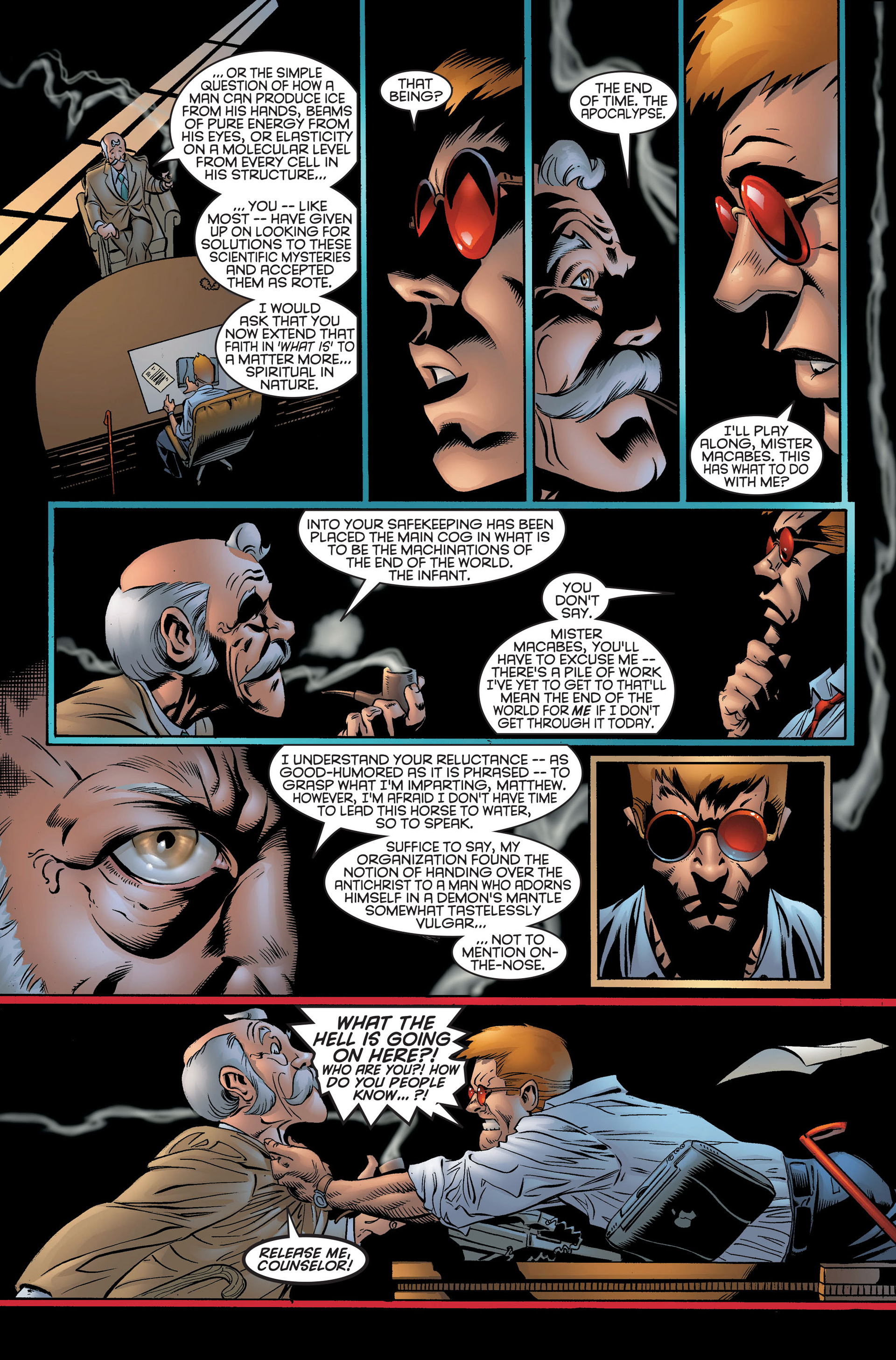 Read online Daredevil (1998) comic -  Issue #2 - 8