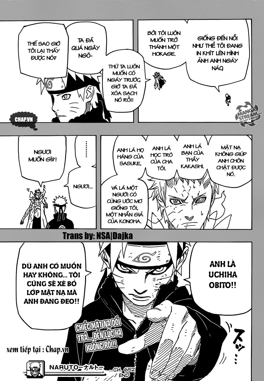 Naruto chap 652 Trang 17