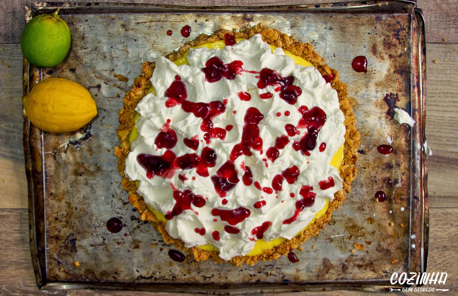 Sobremesa rápida: Receita simples de torta gelada de limão com massa cracker, foto: André Nogal