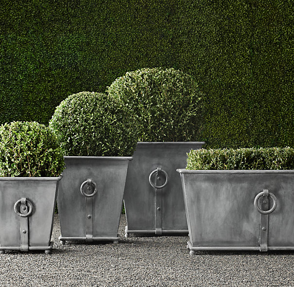 zinc planters restoration hardware with More Outdoor Fun Can You Stand It on Galvanized Trough Planters Galvanized Tub Ideas Landscape Contemporary With Container Garden Galvanized Horse Trough Planter as well Diy Zinc Planter 1 html likewise Pharmacy Wall Mount Medicine Cabi as well Bar Sheds Diy Pinterest besides Index.
