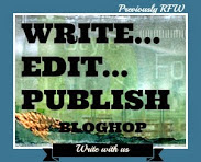 WEP - Write, Edit, Publish  - It's Back!