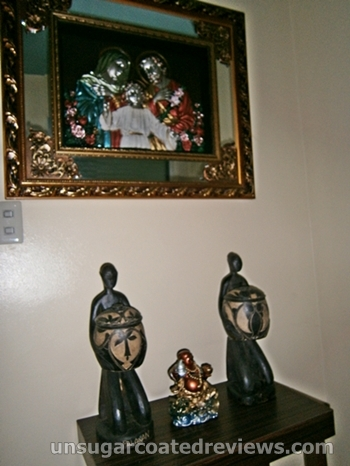 religious icons at Sambitan Dental Clinic