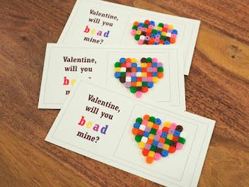 Valentine Bead Hearts