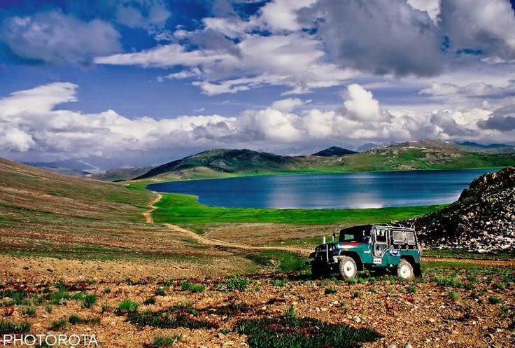 Sheoshar lake Deosai, Pakistan