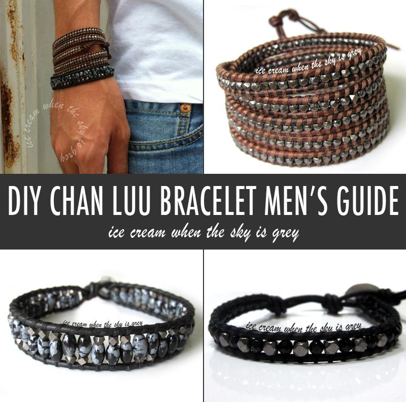 Diy Bracelet Tips For Chan Luu Men S Style Leather Wrap