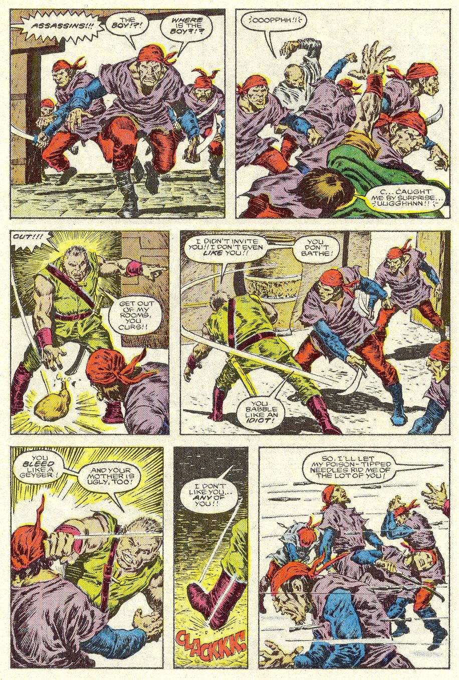 Conan the Barbarian (1970) Issue #187 #199 - English 12