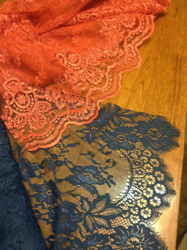 lace, chantilly, boucle, sequin fabric