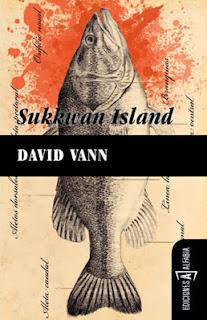 pescado, novela, Isla