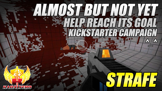 STRAFE Kickstarter, Almost But Not Yet, Help It Reach Its Goal