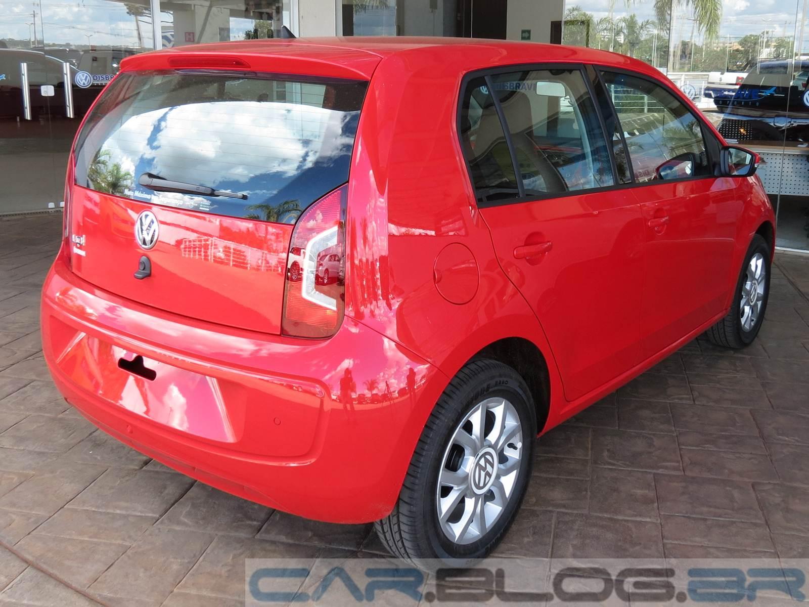 Volkswagen up! - High-up! - vermelho