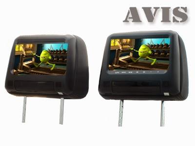 комплект подголовников avs0733t+avs0734bm