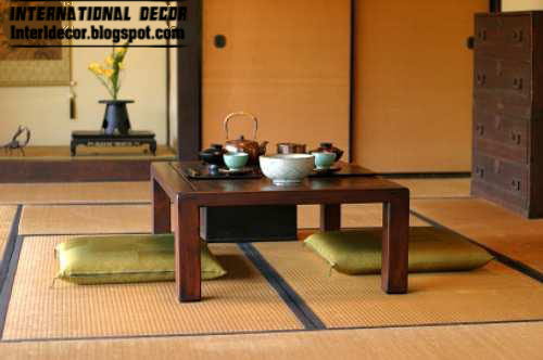 Dining room in japanese