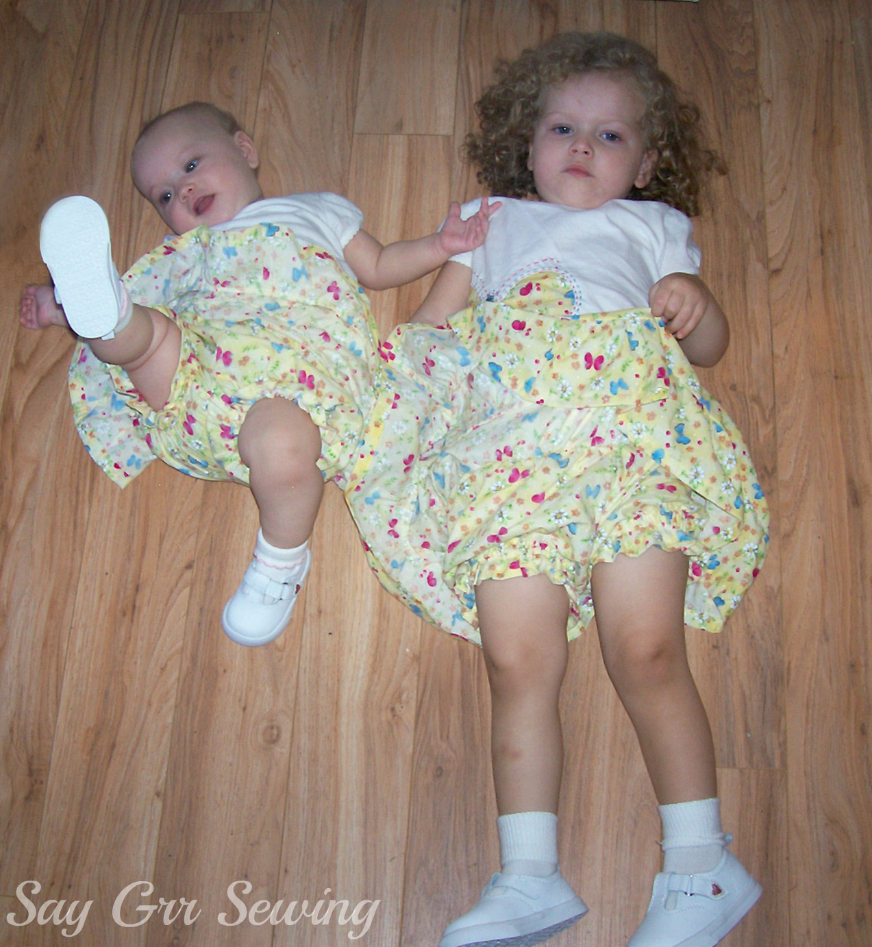 girls in diapers
