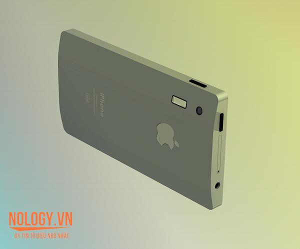 Mặt lưng Iphone 7 được thiết kế ôm tay khi cầm
