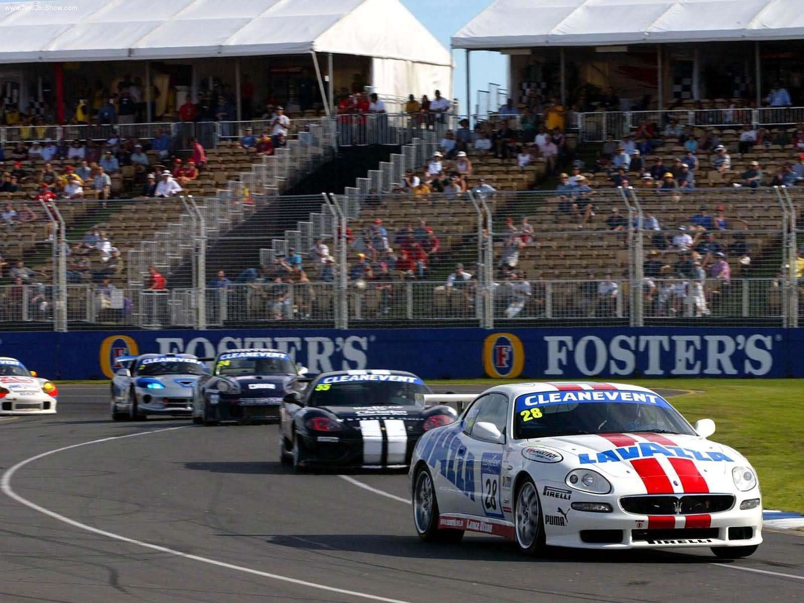 Hình ảnh siêu xe Maserati Trofeo 2003 & nội ngoại thất