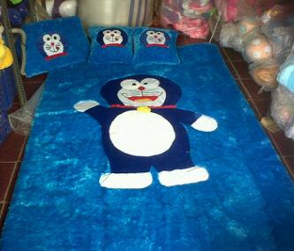 Kasur Karpet karakter Doraemon
