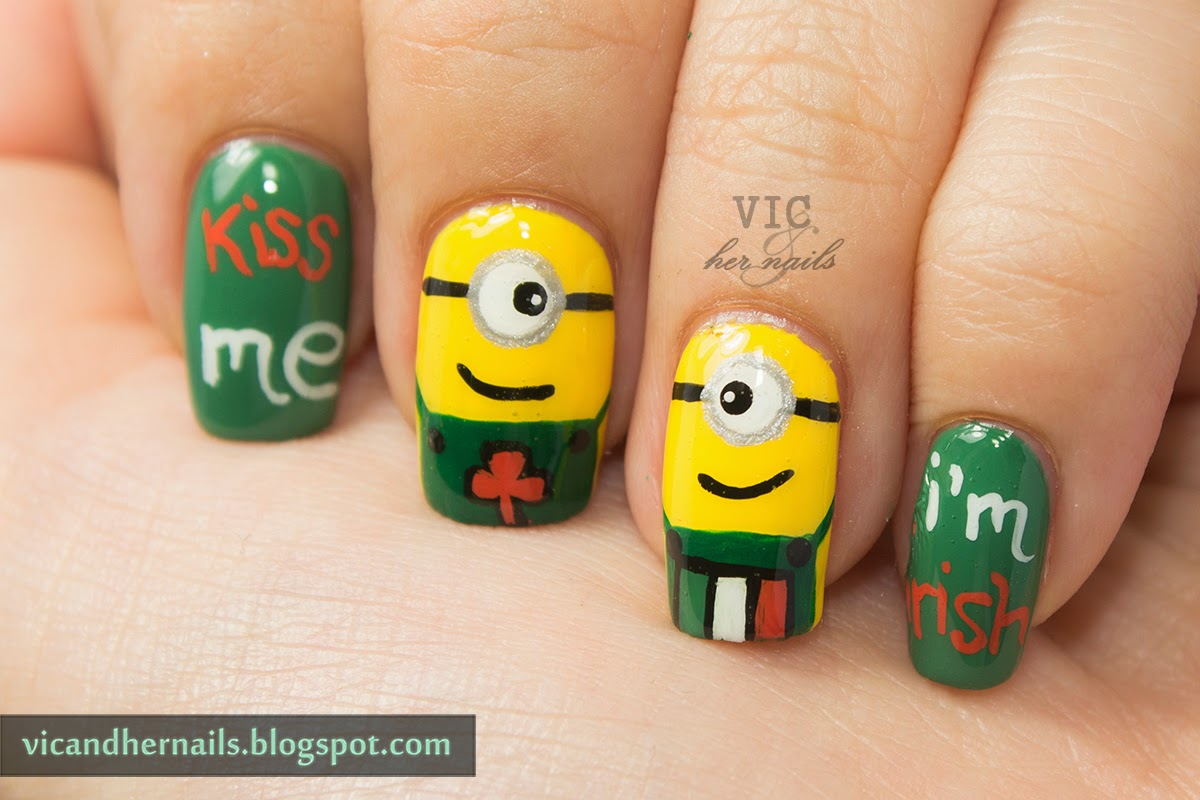 Vic and Her Nails: VicCopycat - St. Patrick's Day Minions ...