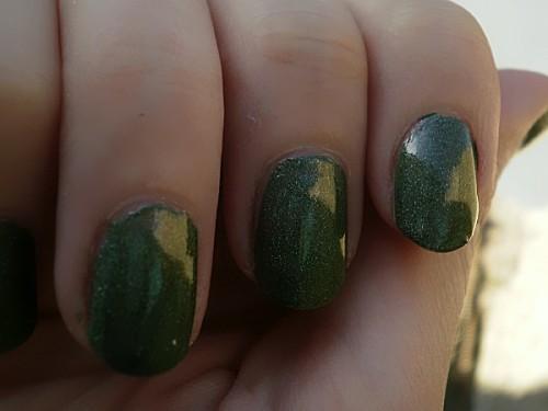 a england, vert, swatch