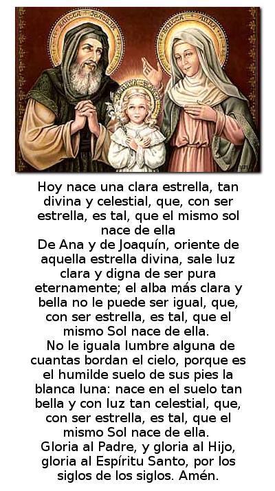 nacimiento de la madre de dios