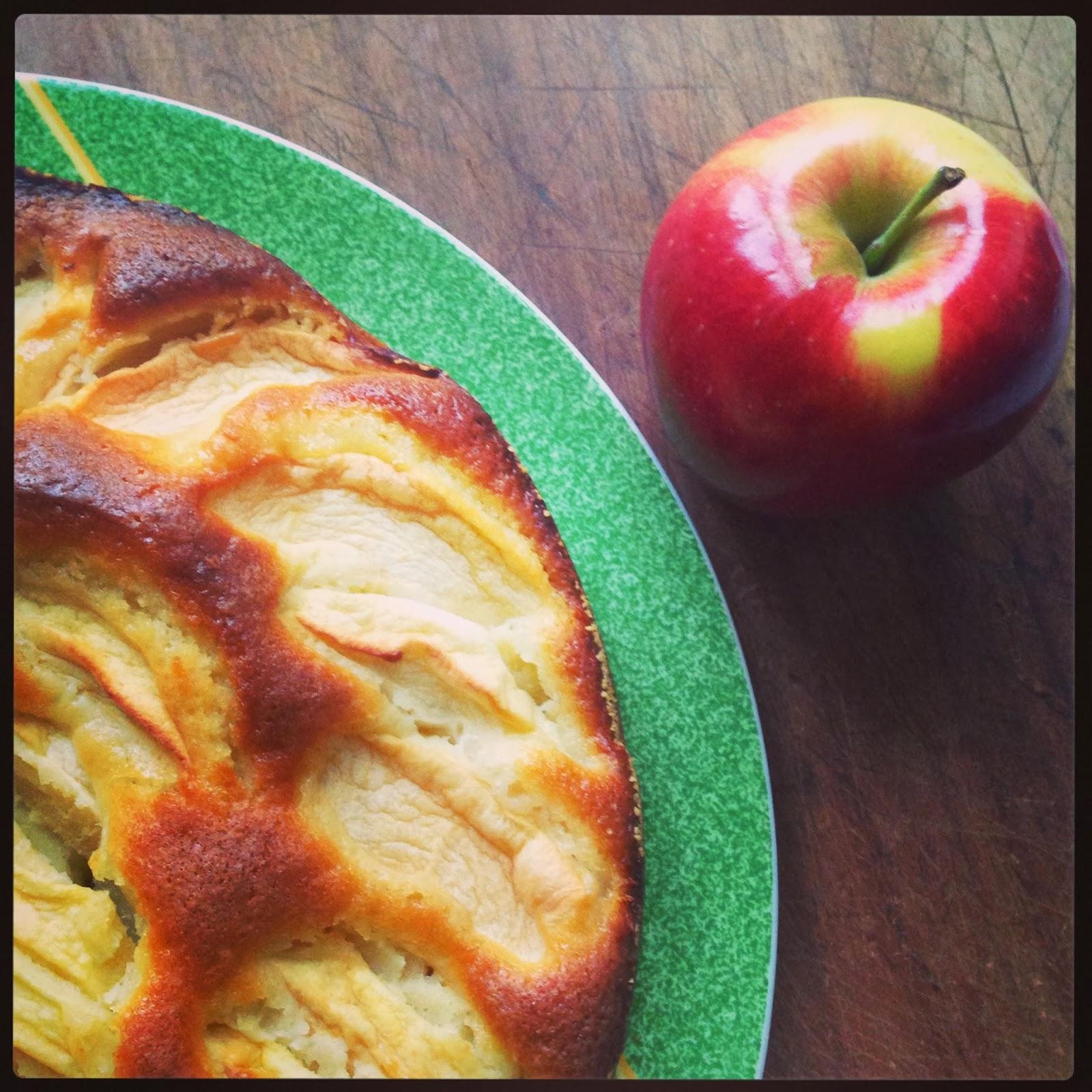 Solita torta di mele (all'EVO e profumo di rosmarino) @monsieurtatin.blogspot.it
