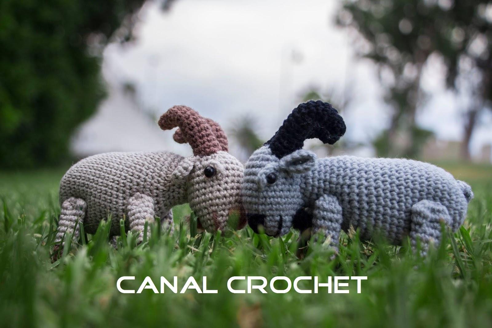 CANAL CROCHET: Carnero amigurumi patrón libre.