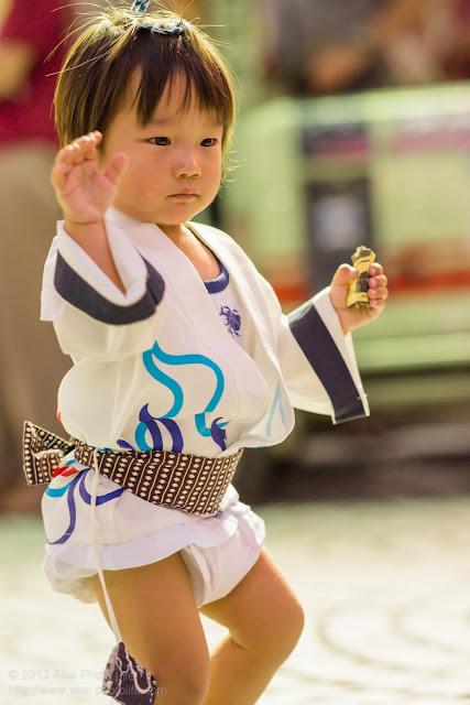 三鷹阿波踊り きまぐ連の子供踊り