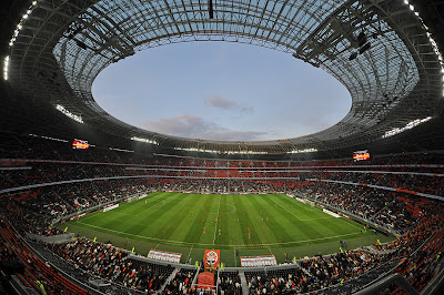 Stadionul Donbass Arena Donetk Ucraina