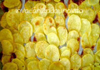 patatine homemade al forno