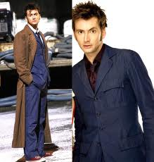 The Doctor surprises us by changing into something a little bit different later on. What we get is his second suit which is all blue and slim fitting.  sc 1 st  Down The Rabbit Hole & Down The Rabbit Hole: Whovember: Dress Like... The 10th Doctor