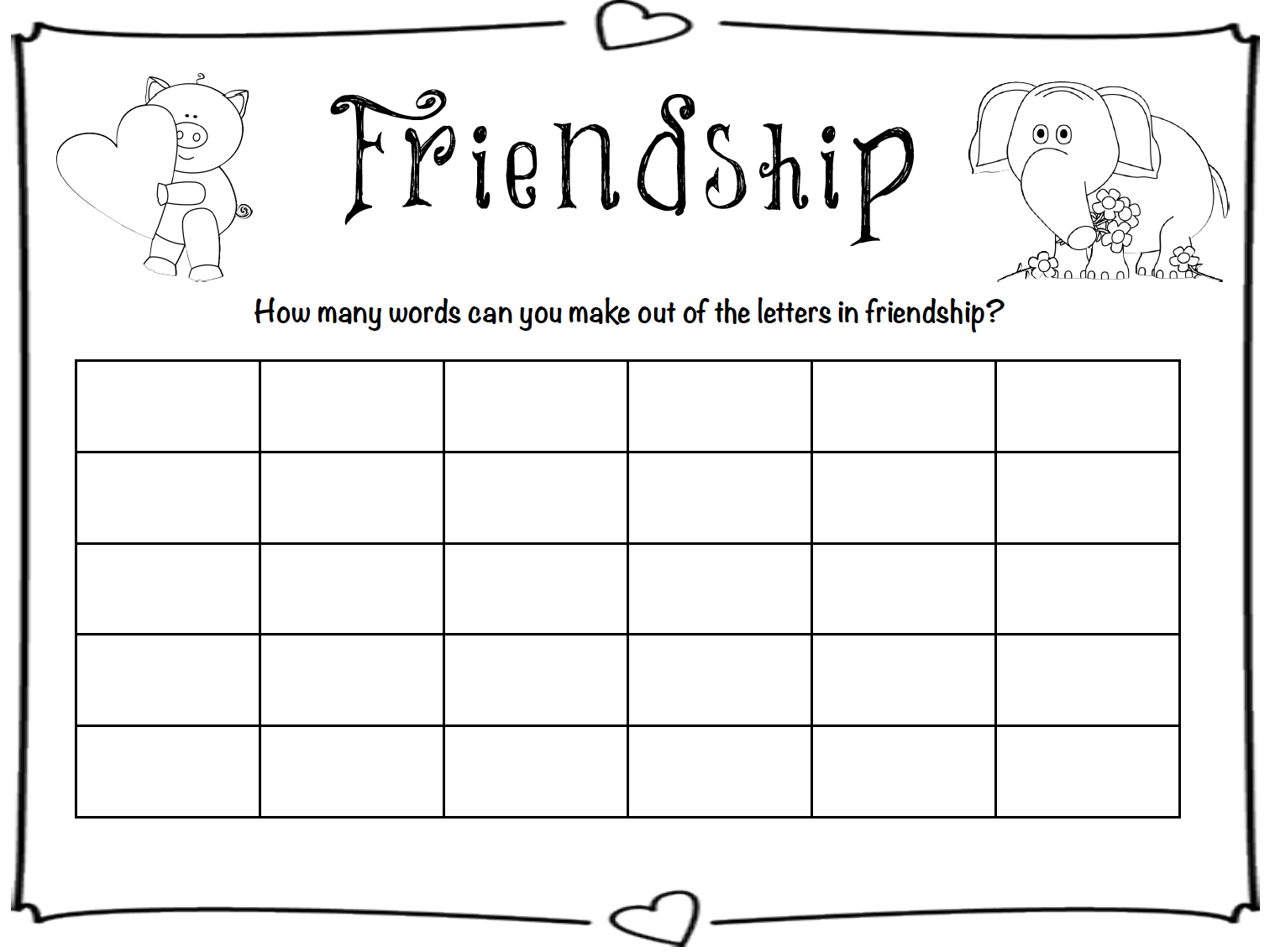 worksheet Friendship Worksheets friendship worksheets for kindergarten reading free worksheet phinixi com kindergarten