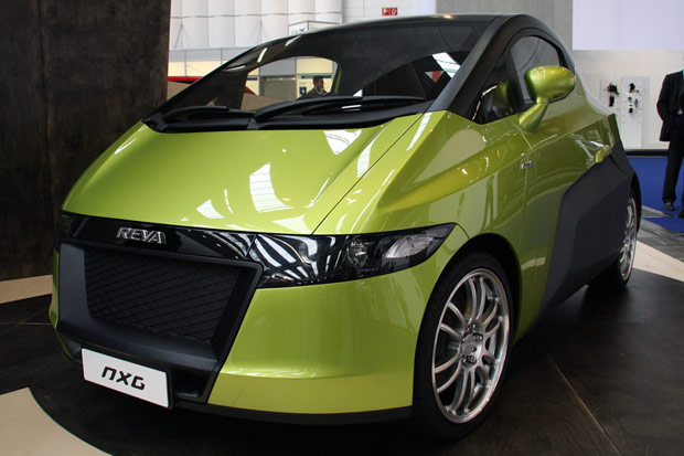 New Bike And Cars In India Reva Nxr Electric Car