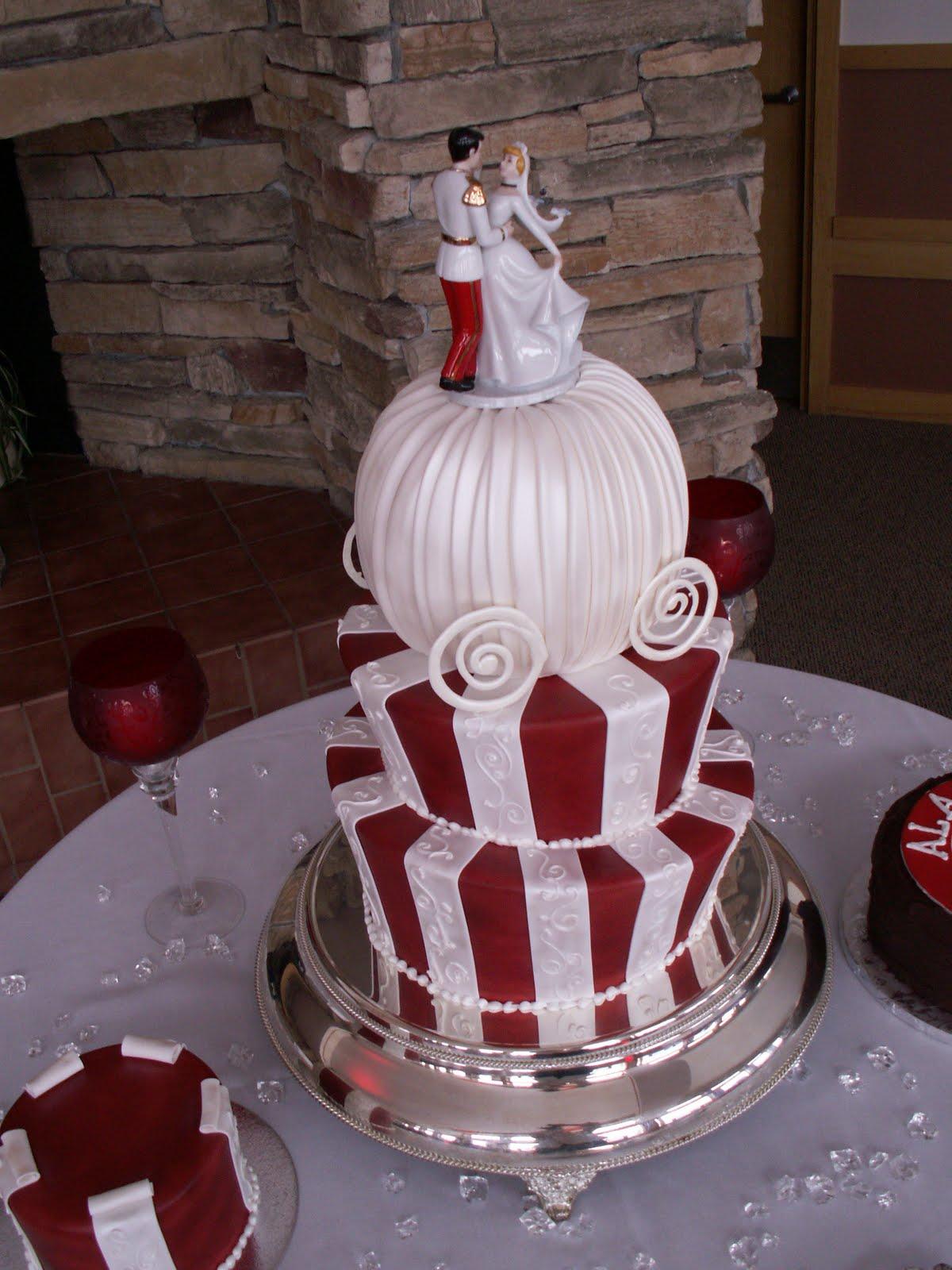 Wedding Cakes Pictures Cinderella Wedding Cakes