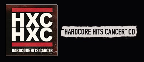 HARDCORE HITS CANCER CD
