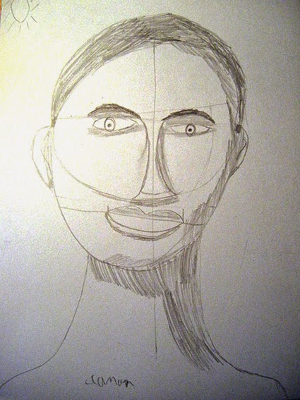 dessin et peinture  u00e0 l u0026 39  u00e9cole  le canon du visage  ateliers