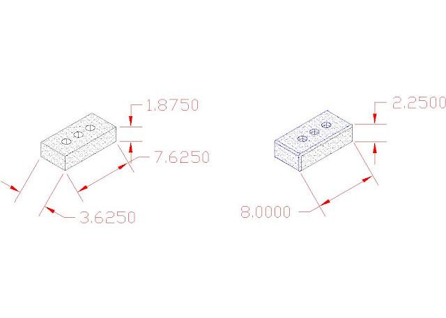Brick Dimensions Standard3