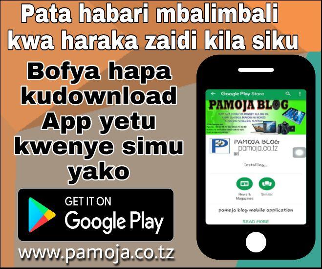 Pamoja Blog App
