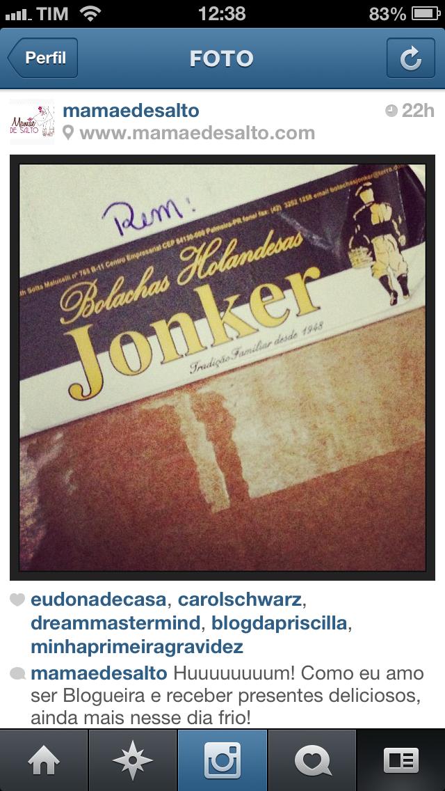 instagram @mamaedesalto imagem bolachas holandesas jonker ==> todos os direitos reservados