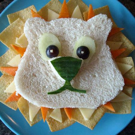 ¿Cómo hacer sandwich divertidos para niños?