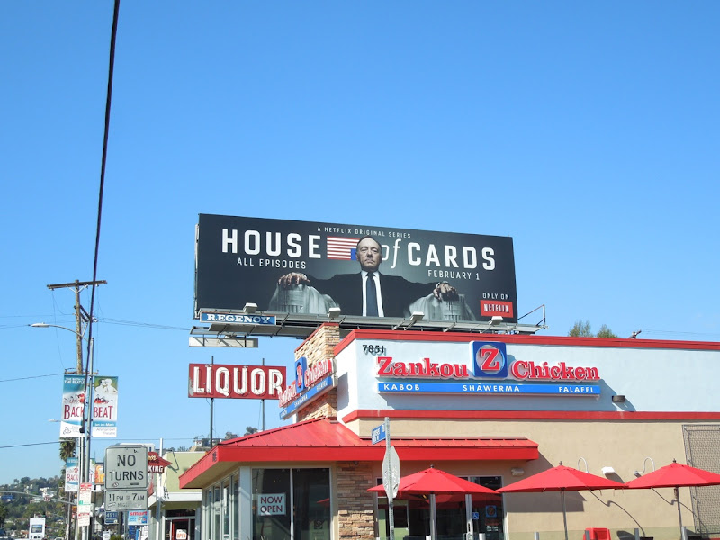 House of Cards billboard