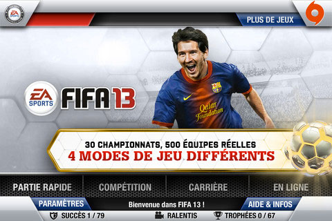 FIFA 13 by EA SPORTS est disponible
