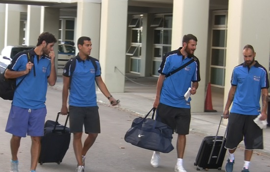 Αναχωρεί αύριο για το Ευρωμπάσκετ η Εθνική Ανδρών