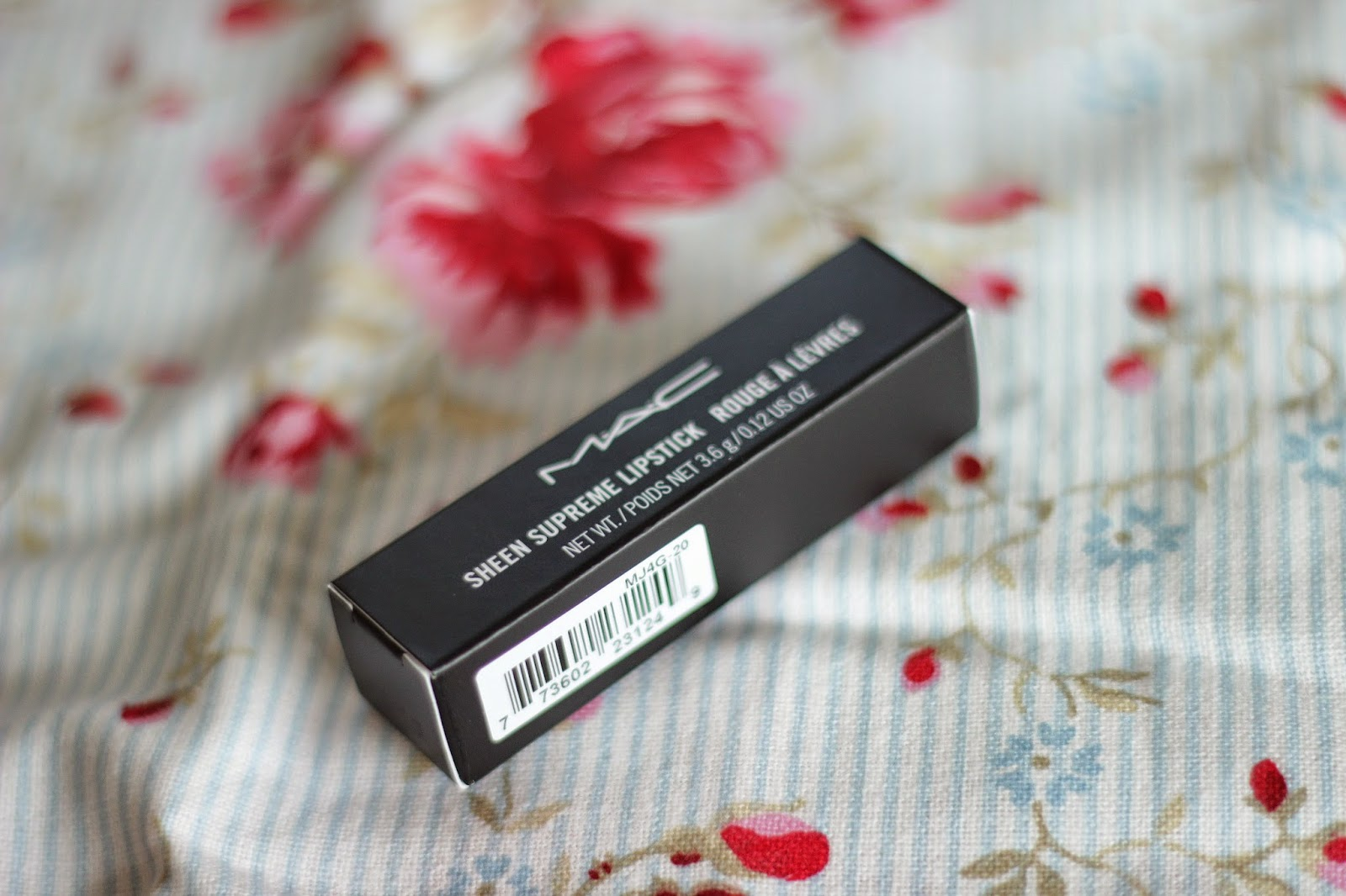 MAC Full Speed Sheen Supreme lipstick