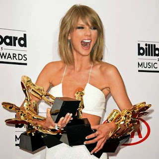 Wow, Taylor Swift Boyong 8 Penghargaan Billboard Music Awards 2015