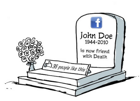 John Doe  1944-2010  is now friend with Death  35 people like this